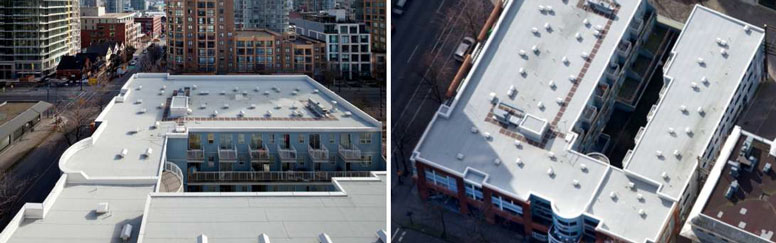 Icopal Noxite Roofing, Jubilee House, Vancouver, Canada