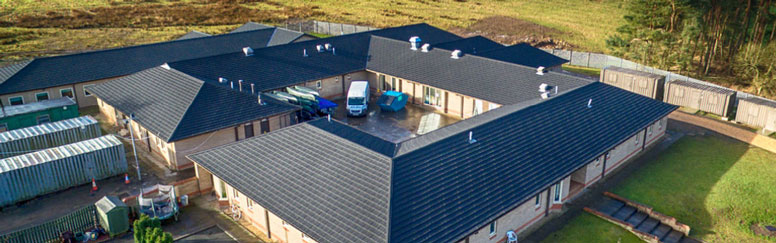 ACF HQ & Cadet Training Centre,  Gilbertfield Road, Cambuslang - Decra Roof Systems